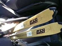 yellow-and-black Elan snow skis Lubbock, 79413