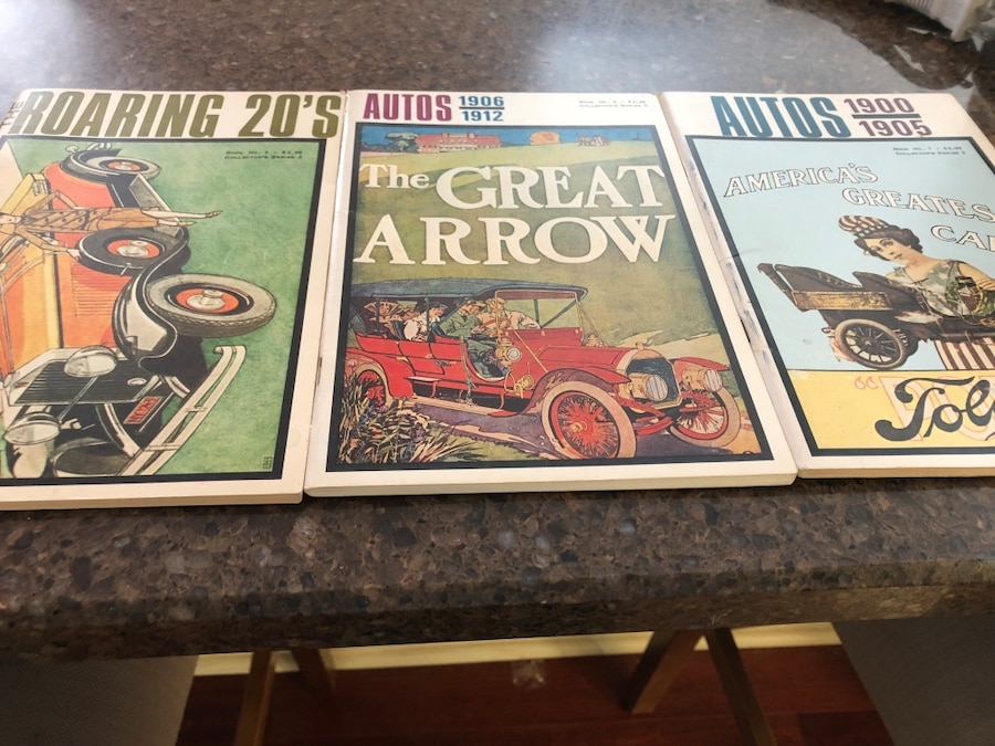 Used Vintage car books in Waterloo