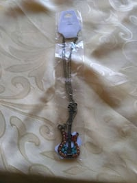 silver and blue beaded necklace Santa Rosa, 95404