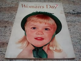 Vintage Woman's Day magazine March 1953
