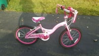 toddler's pink and white bicycle East Greenbush, 12061