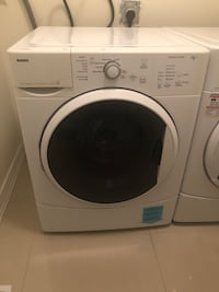 White front load clothes washer and dryer SOLD ON CONDITION OF PICK UP.   Vaughan, L4H 0B2