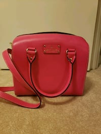 Kate spade pink leather 2-way bag Alexandria, 22314