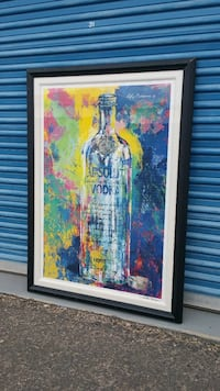 LARGE ABSOLUT VODKA PRINT