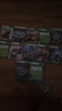 assorted Xbox 360 game cases Mirabel, J7J 2L2