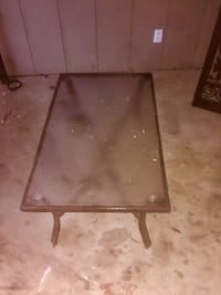 Glass Top Patio Table