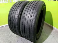 Two 245/60/18 BRIDGESTONE DUELER H/L  Tampa, 33624