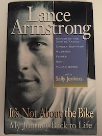 Lance Armstrong It's Not About The Bike Book with Signature