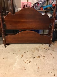 Solid Cherrywood Queen Sized Bed
