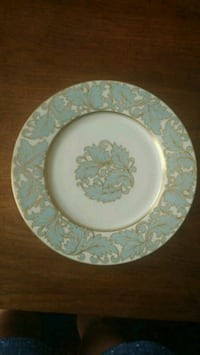 Vintage blue and gold plates Cumming, 30040