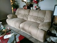 gray fabric 3-seat sofa Minneapolis, 55407