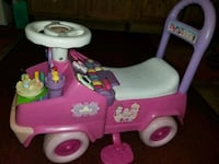 pink and white Barbie ride-on toy Riverside, 92509