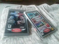 Psp jeux wwe + gta vice city stories