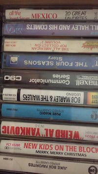 Assorted Cassette Tapes Fort Myers, 33908
