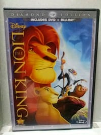 Lion King Diamond edition dvd