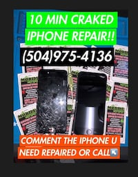 KENNER LOCATION Quick IPhone Repair!!! Kenner Location, Next Door To Brothers On Layola Drive!!!! Kenner, 70065