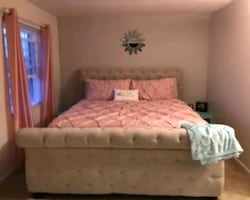 King size bed frame only