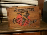 Remington ammo box, would trade for chainsaw. 194 mi