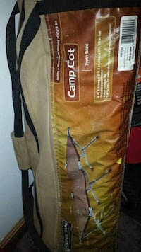 brown and black Ozark Trail tent bag Central City, 52214