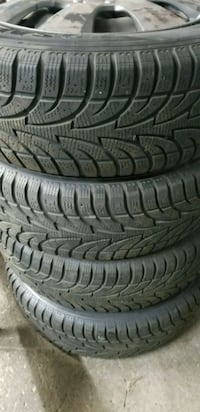 Snow tires and rims  Bradford West Gwillimbury, L3Z 2V7