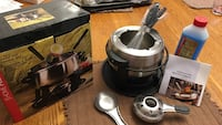 Fondue set. Used once Vaughan, L4L 8J5