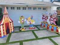 Circus theme party stuff Los Angeles, 91411