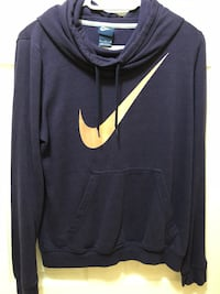 Dark purple hoodie by Nike size medium Langford, V9B 0N8