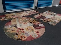 3 thick wool rugs Vancouver, 98663