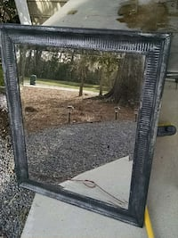 Rectangle black with silver mirror Charleston, 29414