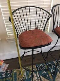 Four mint condition bar stools