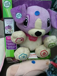 purple and white bear plush toy Kendallville, 46755