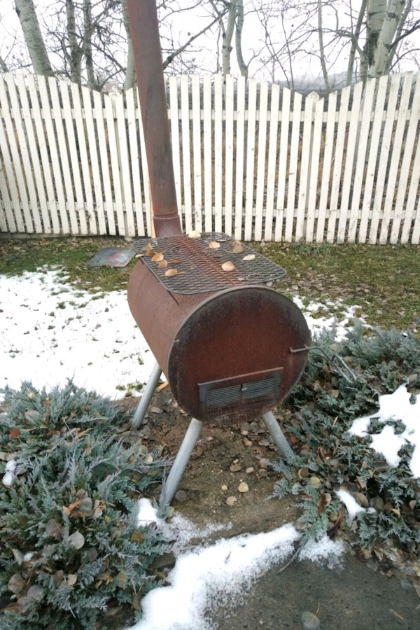 Outdoor grill/furnace thing