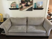 Couch & loveseat.