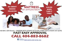 SAVE, SAVE, SAVE $$$ ON A NEW MATTRESS $40 DOWN TAKES IT HOME