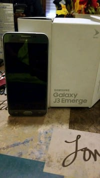 Samsung Galaxy J3 Emerge with box Washington