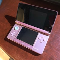 Nintendo 3ds with case and games