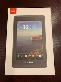 Verizon tablet 1 with case