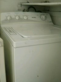 white top-load clothes washer 1922 mi