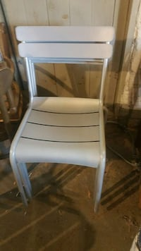 Silver aluminum chairs Uniontown, 15631