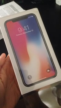 New iPhone X- 64GB (unactivated and unlocked) Leesburg, 20175