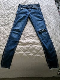 Women's skinny low waist jeans from H&M
