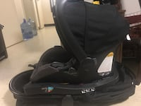 Baby's black and gray jogging stroller and car seat Toronto, M2H 3B6