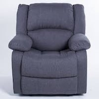 black suede recliner sofa chair Toronto, M5B