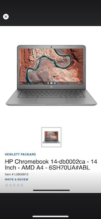 HP Google Chrome  14 inch Leduc, T9E 5M6