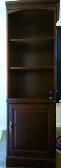 brown wooden TV hutch with flat screen television Myrtle Beach, 29577
