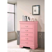 Brand New 5 Drawer Wood Chest (New in Box)  Silver Spring, 20910