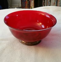 Red Decorative Bowl Manassas, 20109