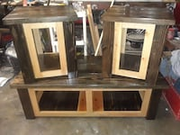 Rustic style coffee and end tables West Sacramento, 95691