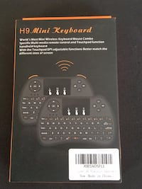 H9  2.4Ghz Wireless keyboard mouse for Smart TV