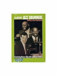 CLASSIC JAZZ DRUMMERS: Swing and Beyond DVD - NEW! Ventura, 93003